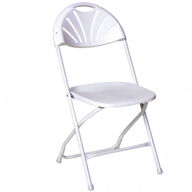 Where to find Wedding White Fan Back Chairs in Kearneysville