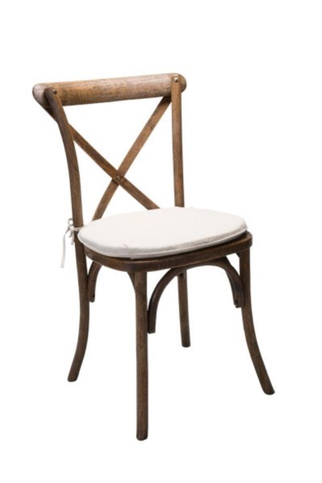 Where to find Cross Back Chair in Kearneysville