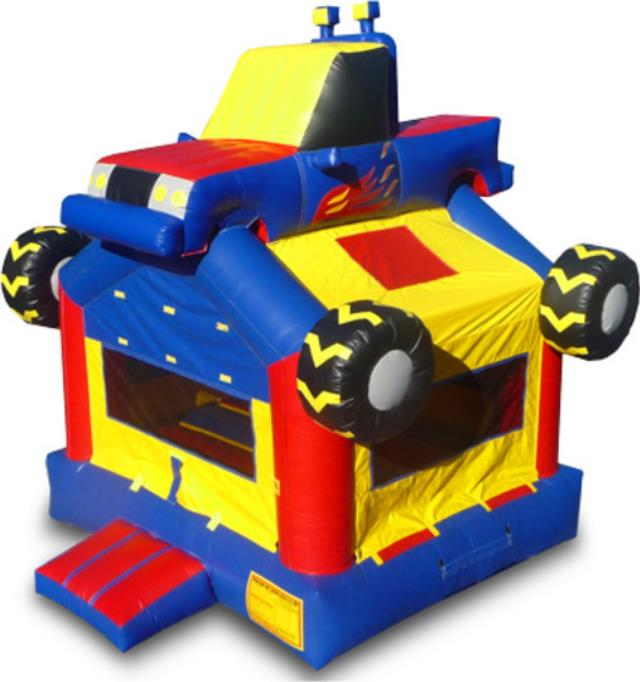 Where to find Monster Truck Bouncer, 15x15 in Kearneysville