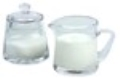 Rental store for Glass Sugar and Creamer Set in Kearneysville WV