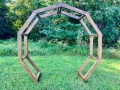 Rental store for Wedding Arch, Wood Hoop in Kearneysville WV