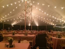 Tent lighting and accessories rentals in Kearneysville West Virginia, Ranson, Charles Town, Harpers Ferry WV