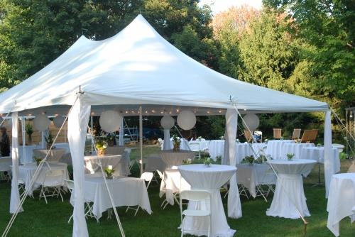 Pole tent rentals in Kearneysville West Virginia, Ranson, Charles Town, Harpers Ferry WV