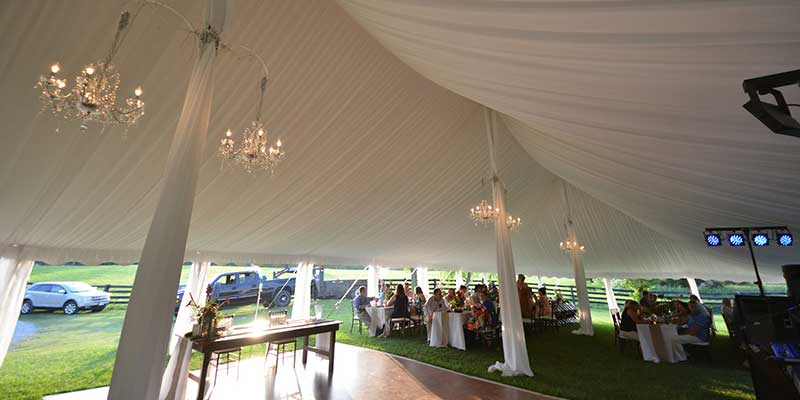 Event Rentals in West Virginia, Maryland, and Virginia