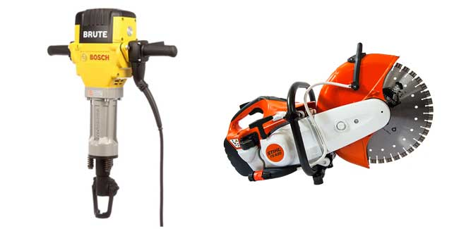 Contractor Tool Rentals in West Virginia, Maryland, and Virginia